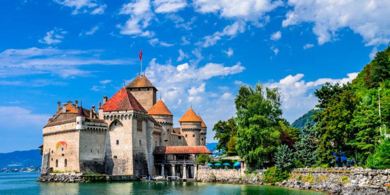 Castle-Chillon-Montreux-Switzerland